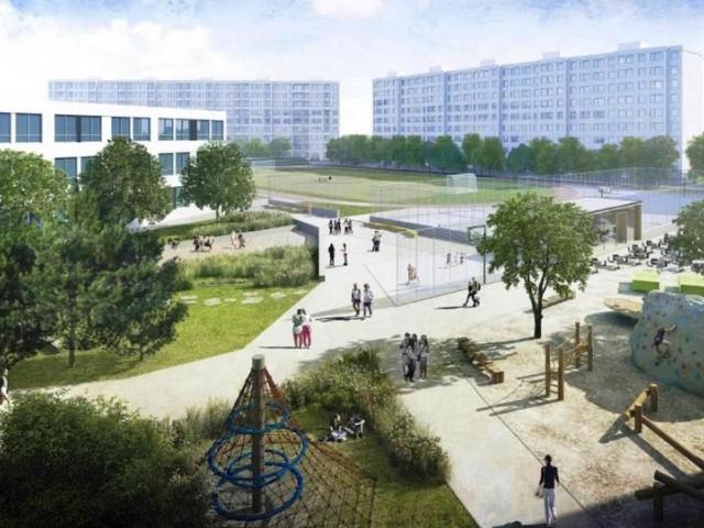 Praha pokračuje v přípravě revitalizace sídliště Vybíralka, foto MHMP