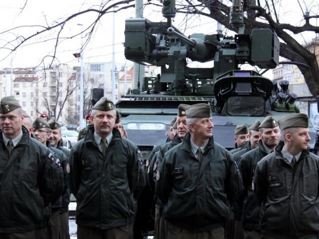Jubilejní padesátá výstava přibližuje 25 let Armády České republiky, foto VHÚ