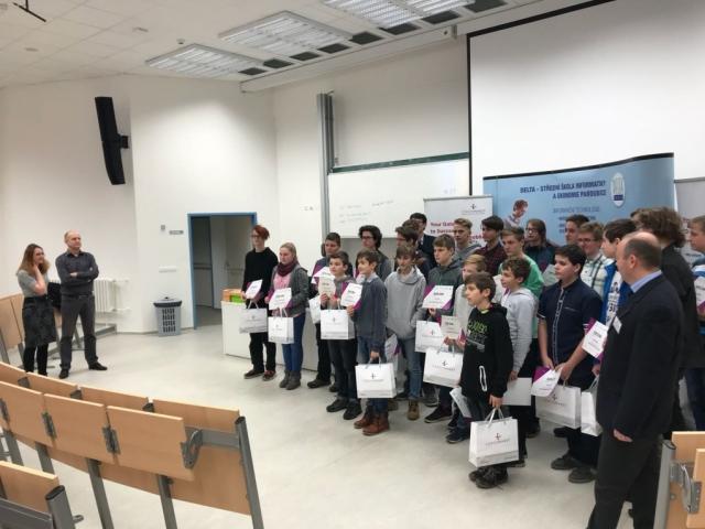 Žáci základních škol soutěžili v programování, foto CzechInvest