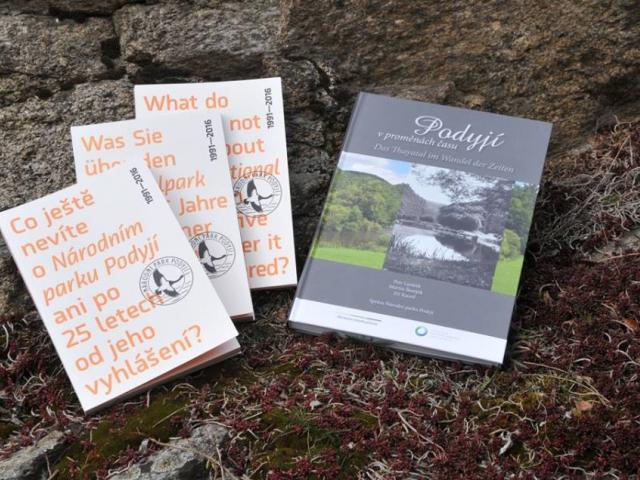 Výstava a dvě nové knihy se věnují historii a současnosti Podyjí, foto: Správa Národního parku Podyjí.