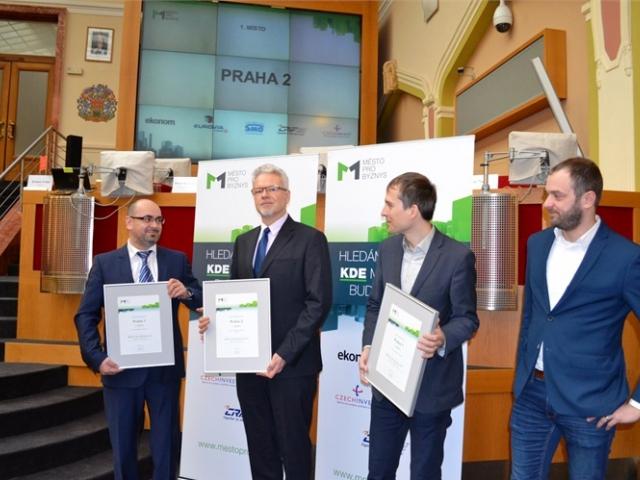 Praha 2 je nejlepší pro podnikatele, má titul Město pro byznys, foto: ÚMČ Praha 2.