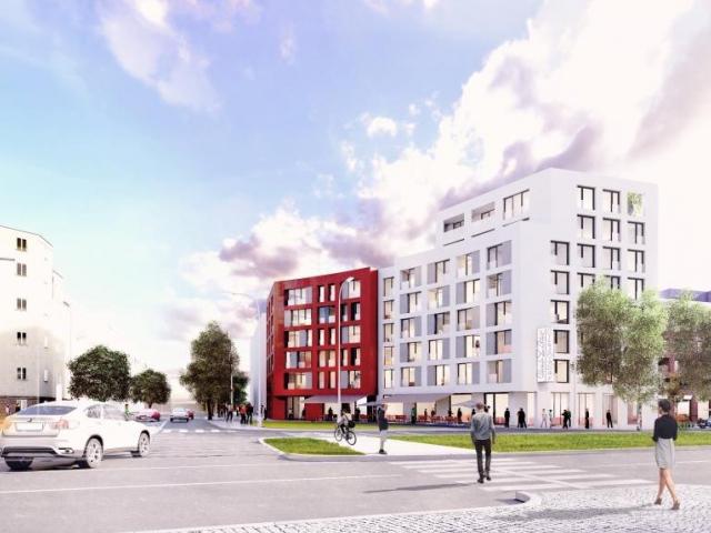Nákladové nádraží Žižkov se promění v rezidenční Parkovou čtvrť, foto: CENTRAL GROUP a.s.