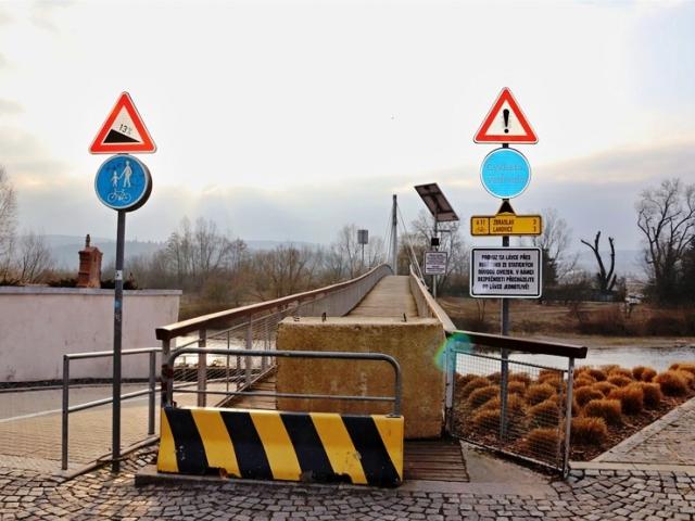 Termín uzavření radotínské lávky se posouvá, foto: ÚMČ Praha 16