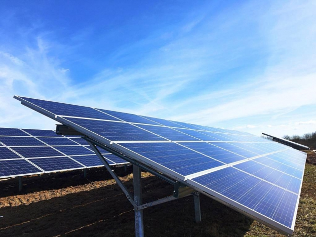 Nový solární park v sídle firmy Viessmann byl připojen k síti, foto: Viessmann