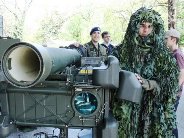 Na pražské Floře se uskutečnil Army den, foto: VHÚ