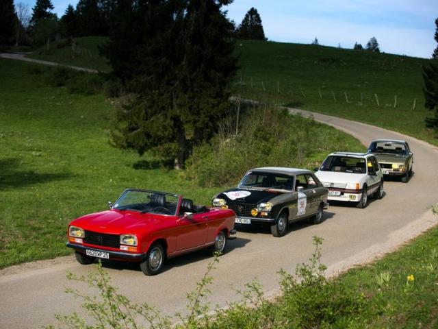 Česko poprvé hostí prestižní mezinárodní sraz historických vozů Peugeot, foto: P Automobil Import s.r.o.