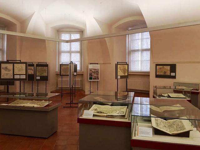 Vzácné historické mapy budou vystaveny v Galerii Klementinum. Foto: Národní knihovna ČR