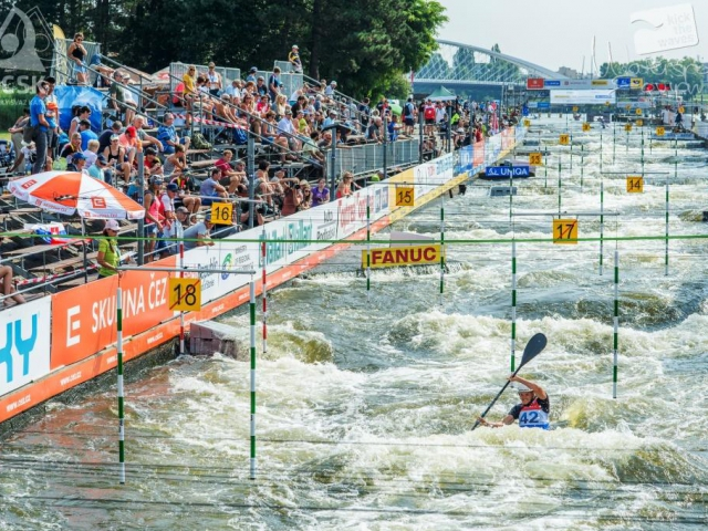 V Praze bude probíhat Mistrovství Evropy ve vodním slalomu, foto: Jan Luxík, slalomtroja.cz