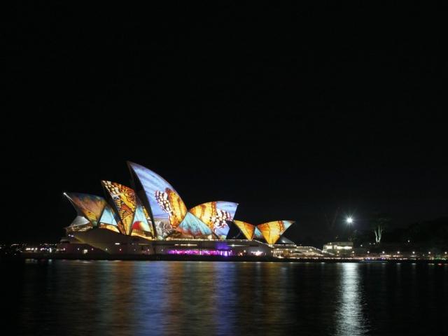 Každý rok v zimě magické Sydney fascinuje světly a kulturou na festivalu Vivid Light, ilustrační foto: pixabay.com
