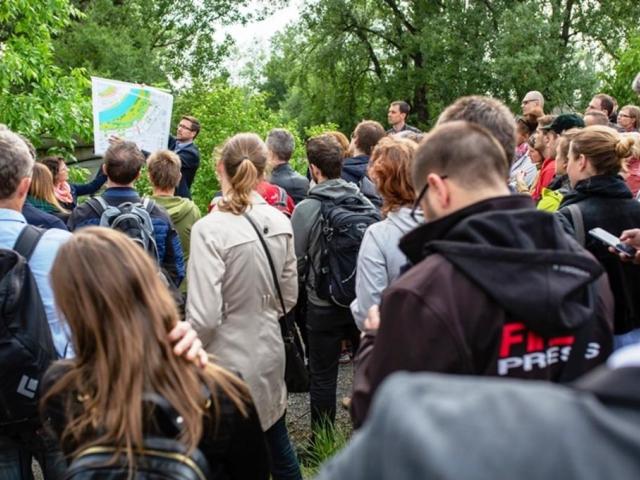 Rada Prahy 8 dala zelenou návrhu studie Rohan City, foto: MČPraha8