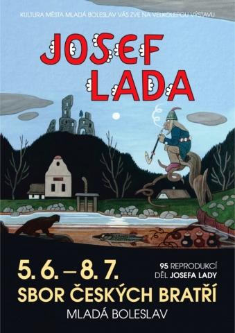 Výstava Josefa Lady v Mladé Boleslavi stále láká, foto: kulturamb.cz