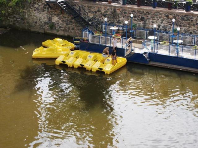 Dobrá zpráva pro malá plavidla, foto: Praha Press