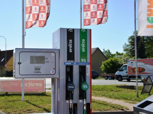 Pravidelné kontroly kvality pohonných hmot chrání spotřebitele, ilustrační foto: Praha Press