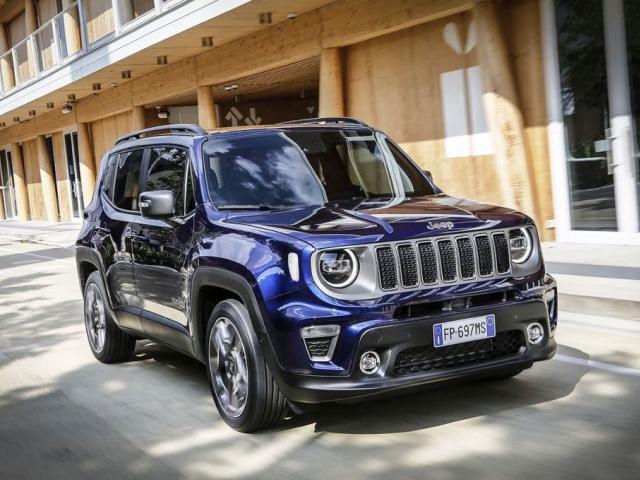 Nový 2019 Jeep Renegade, foto: Fiat Chrysler Automobiles N.V.