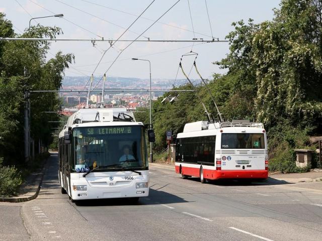 Praha bude mít po 46 letech pravidelnou trolejbusovou linku. Foto: Facebook DPP