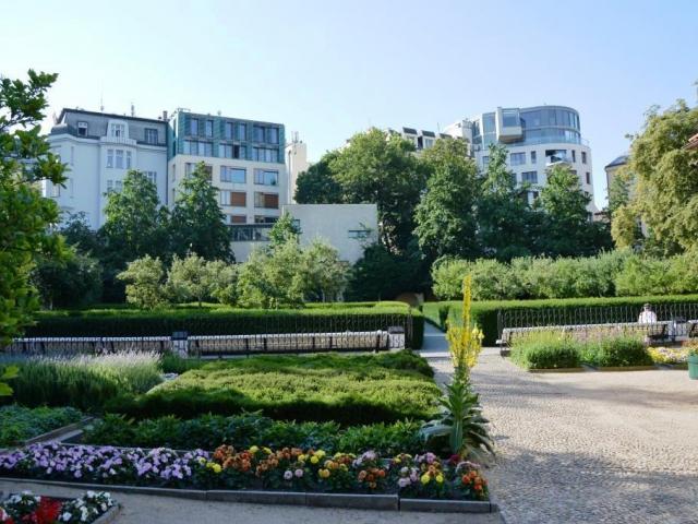 Kouzelná Františkánská zahrada v srdci Prahy, foto: Stanislava Nopová
