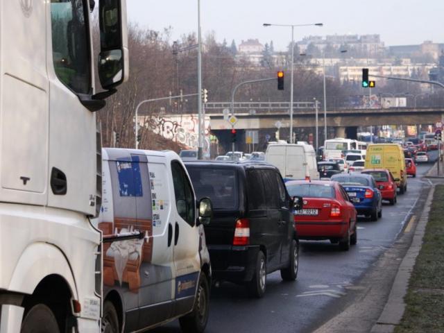 Nejvíce znečišťuje ovzduší Prahy silniční doprava, foto: Praha Press