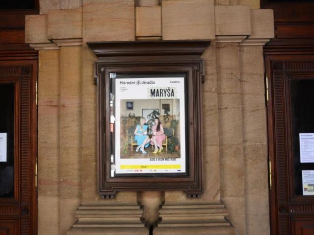 Drama Maryša v Národním divadle, foto: Praha Press