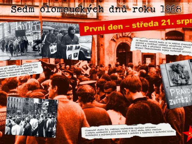 Výstava o okupaci roku 1968 v Olomouci, foto: Magistrát města Olomouce