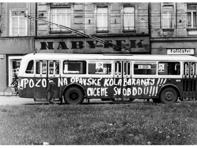 Výstava na téma Opava v roce 1968, foto: Statutární město Opava