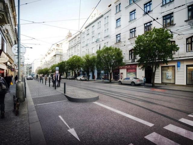"""Studie na """"Letenský kříž"""" schválena – na Letné přibude 200 stromů, foto: ÚMČ Praha 7"""