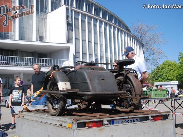 V Brně se bude konat tradiční největší burza historických vozidel, foto: Jan Martof, bvv.cz