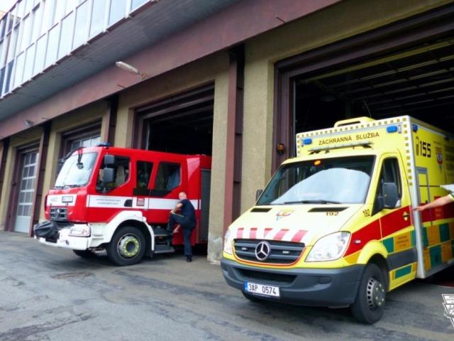 Pražská záchranka otevřela 22. Základnu, foto: ZZS HMP