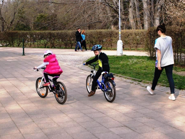 Pražské cyklozvonění – 12. ročník rodinné jízdy Prahou, foto: Praha Press