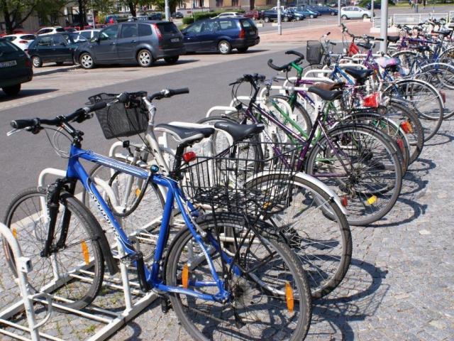 Nový sčítač chodců a cyklistů v Podolí, foto ilustrační
