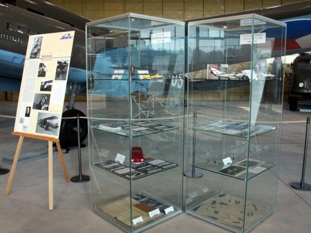 Výstava ve Staré aerovce přibližuje historii firmy Letov, foto: VHÚ