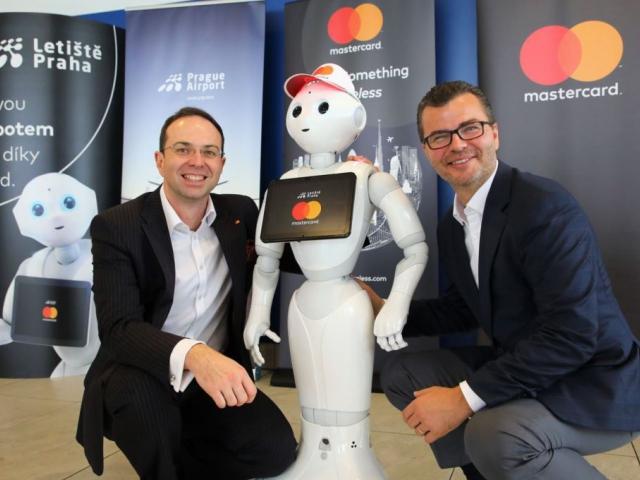 První robot ve službách českého letiště, foto: Letiště Praha