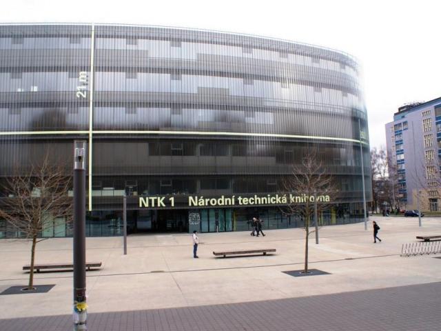 Do NTK i za hudebním archivem Supraphonu, foto: Stanislava Nopová