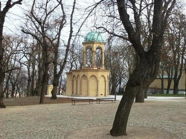 Foto: MHMP, Kaple Božího hrobu na Petříně