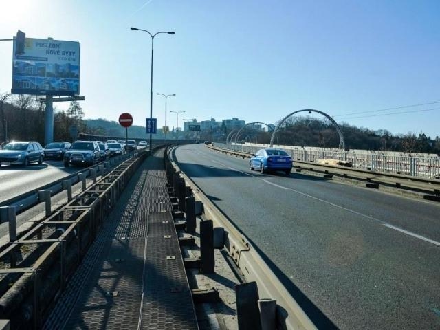 Oprava mostu přes Růžičkovu rokli omezí výjezd z Prahy, foto: TSK Praha