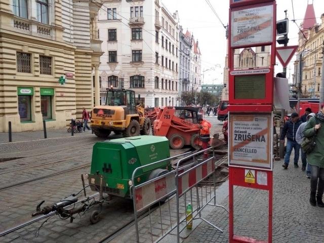 Na Letné bude probíhat výměna tramvajových kolejí, foto: ÚMČ Praha 7