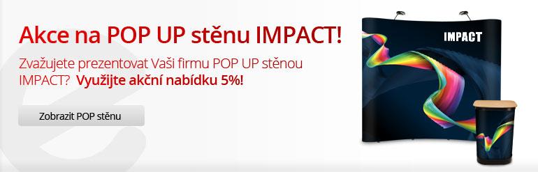POP UP stěna IMPACT