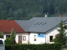Polymerní šindel - imitace plechových střech