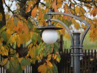 Kovaná lampa