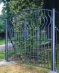Brána - Evangelický hřbitov, Dlouhé, 1998