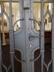 kované dveře