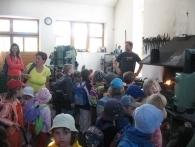 Návštěva dětí z Mateřské školky Bobrová
