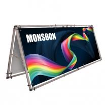 Monsoon - rozevírací banner