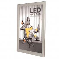 LED Trappa - rám na plagáty