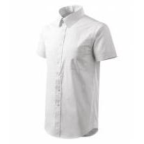 Shirt short sleeve/Chic košile pánská bílá