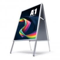 Reklamní A stojan s ostrými rohy - A1