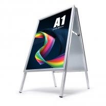 Reklamní A stojan - A1 s ostrýmy rohy