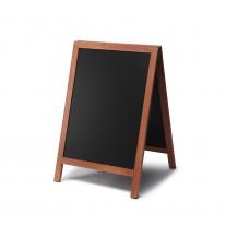 A stojan s křídovou tabulí 55 x 88 cm - světlá