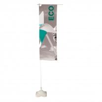 Eco - reklamní vlajka