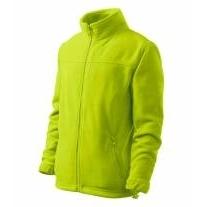 Jacket fleece dětský limetková 158 cm/12 l